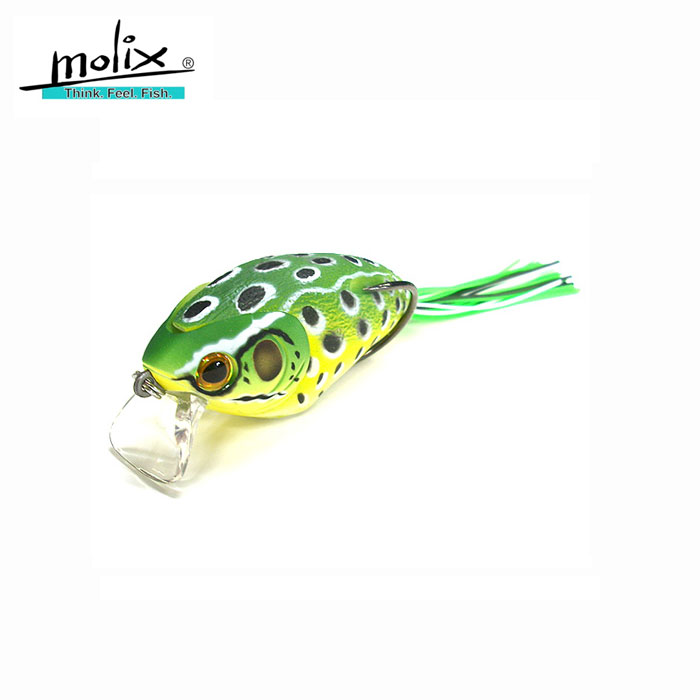 FROG 65 MOLIX  COLORE 68 ULULONE SPINNING BLACK BASS